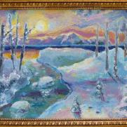 Winter Lake Majesty